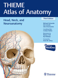 THIEME Atlas of Anatomy, Volume 3: Head, Neck, and Neuroanatomy